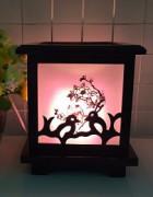 Đèn xông tinh dầu gỗ DG - 7